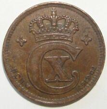 1919 DENMARK 2 ORE  NICE WORLD COIN