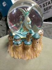 Crystal Visions San Francisco Music Box Company Dragon Musical Water Globe