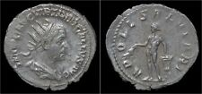 Trebonianus Gallus AR antoninianus Apollo standing left