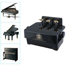 Piano Pedal Extender Adjustable Height Piano Foot Pedal Extender +3 Pedals