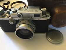 Canon 11b 35mm Camera With F1.9 Serenar 50mm Lens