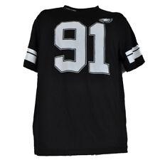NFL Philadelphia Eagles Fletcher Cox Game Jersey Tshirt Mens Short Sleeve Black