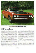 1970 Ford Torino Cobra 429 Article - Must See !!