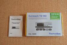 Receiver von Techni Sat, Modell Eurotech T2 HD, NEU