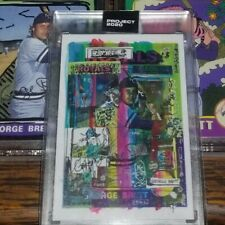 Topps Project 2020 Gregory Siff / George Brett #11 THE HOTTEST CARD!!