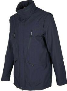 MENS XL ADVENTURE JACKET LAND ROVER water resistant zip sleeves hood breathable