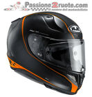Casco moto Hjc Rpha 11 Riberte mc-7sf arancione orange casque integral helm