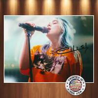 Billie Eilish Autographed Signed 8x10 Photo REPRINT