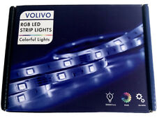 Volivo Led Strip Lights 32.8ft 2 Rolls of 16.4ft Rgb 5050 Led Lights for Bedr.