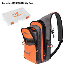 KastKing Sling Tackle Bag and Tackle box Storage Bag Holds (1) 3600 Tackle Box