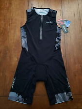 ZOOT Mens XL Ultra TT TriSuit Sleeveless Cali19 Triathlon Skinsuit Racesuit
