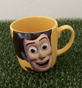GENUINE DISNEY STORE TOY STORY WOODY THERES A SNAKE IN MY BOOT 3D MUG 10CM TALL