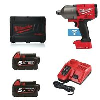 Milwaukee MWM18ONEFHIWF34-502X M18 One Key 3/4 Drive High Torque Gun Kit, Multi