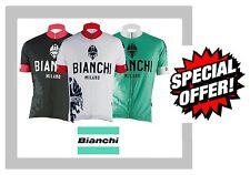 951b780b1 BRIKO CORSA Team Bib Italian Cycling Shorts White Black Red Mens Gents L  Large