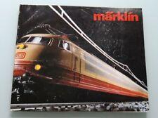 CATALOGUE MARKLIN ANNÉE 1983 / 1984 - TRAIN ELECTRIQUE HO 1/87