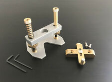 Router Edge Guide + Router Base, Set of 2, Create Binding Channels, Adjustable