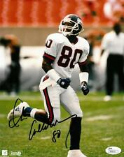 Chris Calloway Signed NY Giants Authentic Autographed 8x10 Photo JSA #R98633