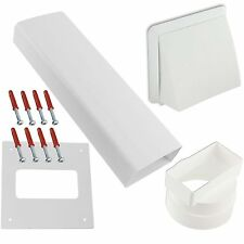 White Knight & BEKO Tumble Dryer Wall Vent Kit - Brick Size Ducting for Ease.