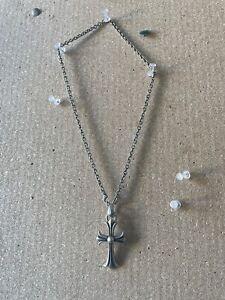 Chrome Hearts Cross Pendant Necklace