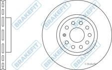 VW SHARAN 7N 2x Brake Discs (Pair) Vented Front 1.4 2.0 2.0D 2010 on 312mm Set