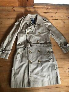Burberry's of London Vintage Trenchcoat Mantel Herren M 48 Damen L ca. 42 Beige