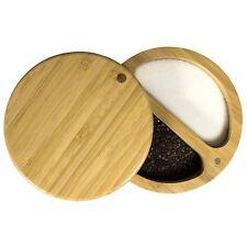 Totally Bamboo Duet Double Salt Box / Cellar