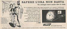 W1825 Orologio TISSOT Visodate - Pubblicità 1958 - Vintage Advertising