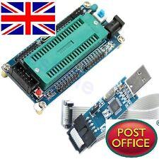 Placa de mínimos de sistema Avr Atmega 16 Atmega 32 + USB ISP Usbasp Programador Para Atmel
