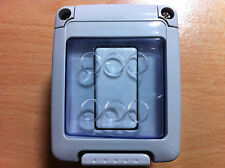 Waterproof Weatherproof Outside Switch 1 Gang 1 Way Single IP55