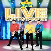 Live: Hot Potatoes - Music CD - Wiggles -  2005-01-11 - Koch Records - Very Good