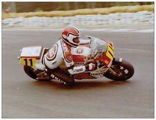 ansichtkaart Yamaha YZR500 1986 #11 Mike Baldwin Spa Francorchamps