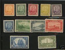 Canada  149-159   Mint   catalog  $682.75