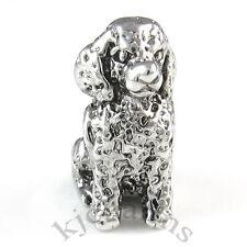 Golden Retriever Dog Silver European Spacer Charm Bead For Bracelet EB211