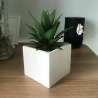 Square Cement Flower Pot Making Silicone Concrete Planter Mold Clay Vase Mould