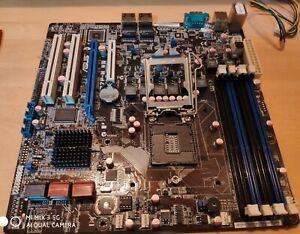 *Rare* ASUS P7F-M WS  s1156 server class motherboard Dual LAN & IO shield