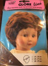 NEW Glorex 25-27cm 10-10.5 Inches   Blonde Doll Wig Switzerland Boy/Girl Short