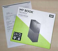 Western Digital WD My Book 14TB externe Festplatte HDD USB3.0 NEU+OVP Garantie