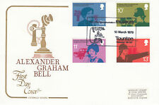 (66151) GB Cotswold FDC Telephone Alexander Graham Bell Museum Taunton 1976