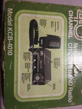 Kraco Vintage 40 Channel CB Radio Model KCB-4010