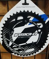 Insight 5-Bolt BMX Chainring 110mm BCD 44T Black