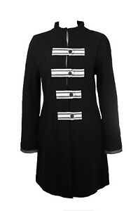 Coat Jacket Noa Noa Black Wool  RRP: £160   XL / UK 16