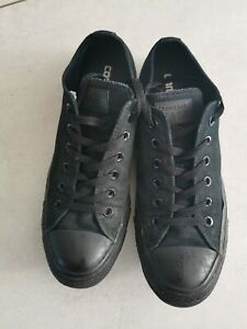 Black Canvas Converse Size 8
