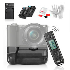 Meike A6300 Pro Battery Grip + Sony NP-FM50 battery 1800mAh +Charger