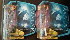 "New 2009 Avatar TSU'TEY X 2 W/HTF Variant Figure 4"" Level 1Jame's Cameron Mattel"