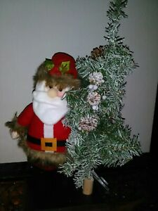 Santa Claus Light-Up Figurine Tabletop Christmas Holiday Decor *(Brand New)