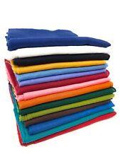 Baumwolltuch einfarbiges Tuch uni Halstuch Baumwolle Schal Bandana 50 x 50 cm