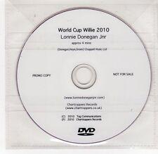 (GI376) Lonnie Donegan Jnr, World Cup Willie - 2010 DJ DVD