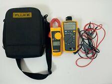 Fluke 116 323 True Rms Acdc Hvac Multimeter Amp True Rms Ac Clamp Meter Combo Kit