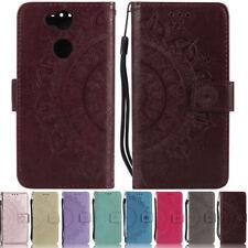 Mandala Wallet Leather Flip Case Cover For Sony L1 L2 XA XA1 XA2 XZ1 Z3 Z5 XZ2