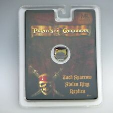 Pirates Of The Caribbean Jack Sparrow Stolen Ring Replica (Master Replicas) New